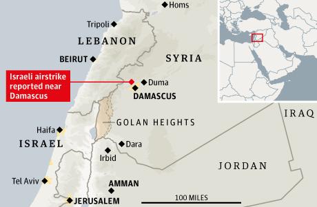 Israel Syria airstrike resized 600