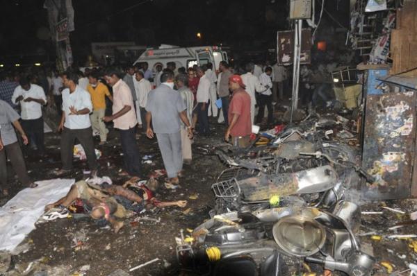 Explosive Incident Hyderabad India