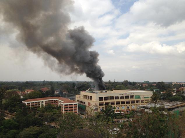 Westgate Mall in Nairobi, Kenya