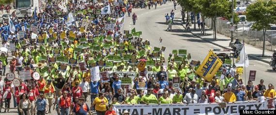 walmart black friday protests